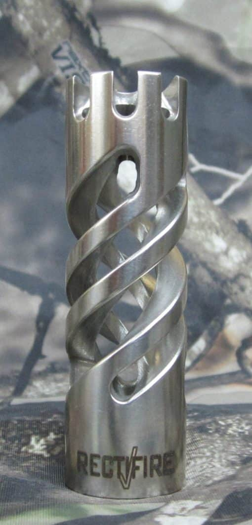Stainless Steel Polished Finish Muzzle Brake