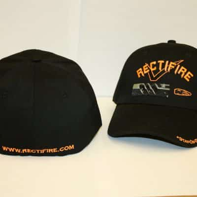 Rectifire Black fitted hat