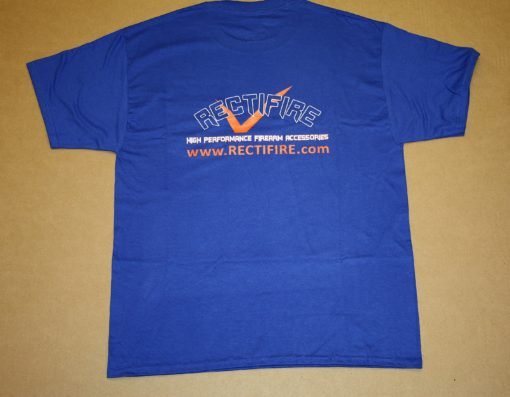 Royal Blue T-shirt Back