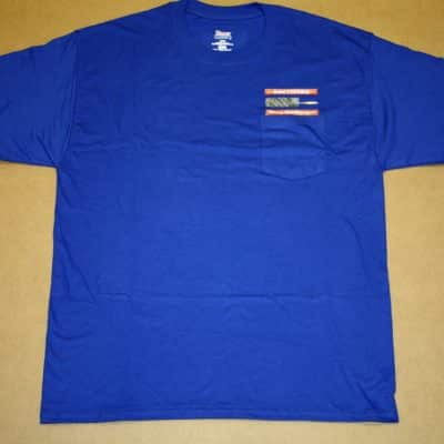 Royal Blue T-shirt Front