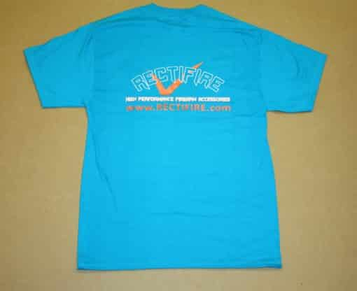 Rectifire Teal T-shirt Back