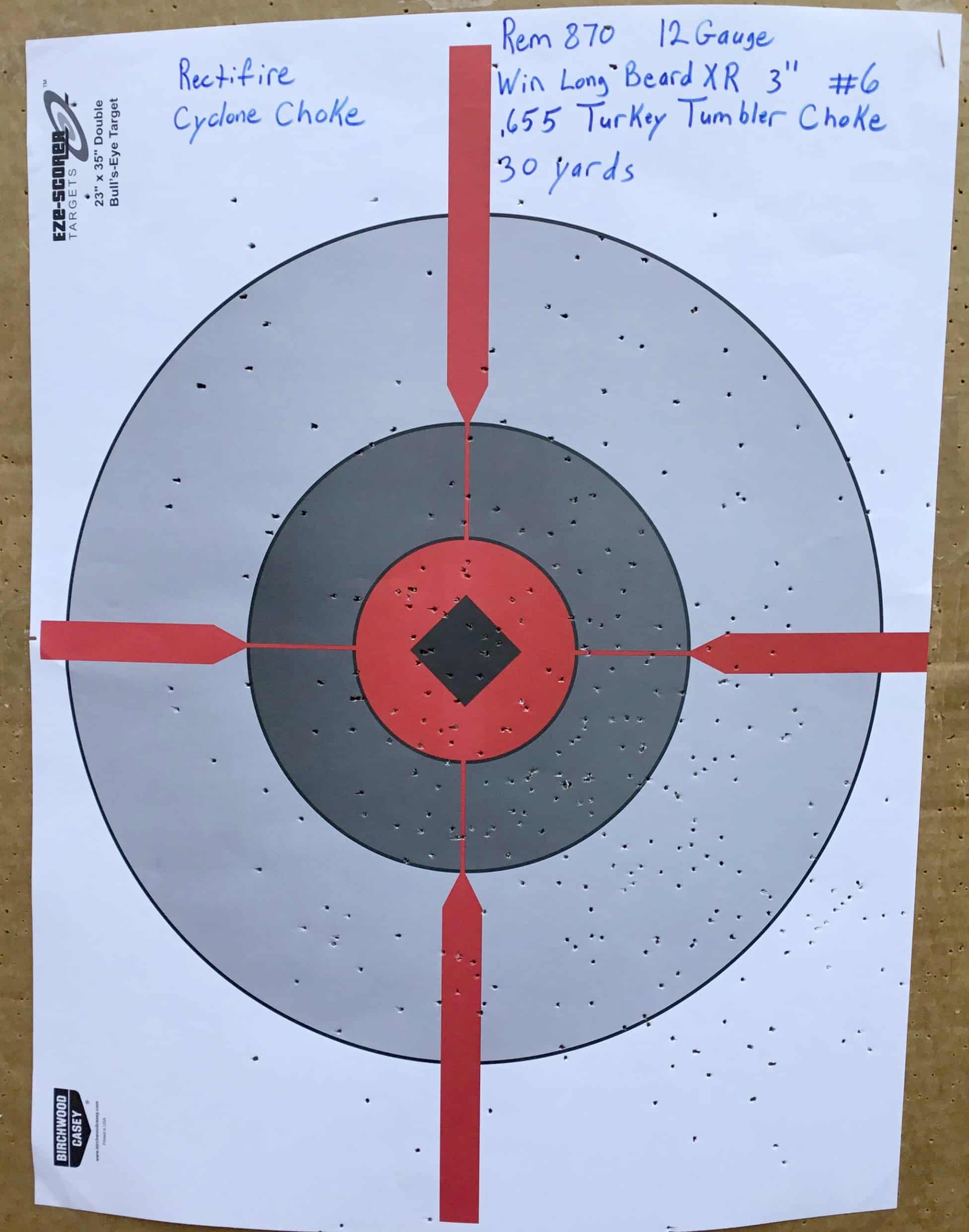 Remington 870 12 Gauge @ 30 yds.