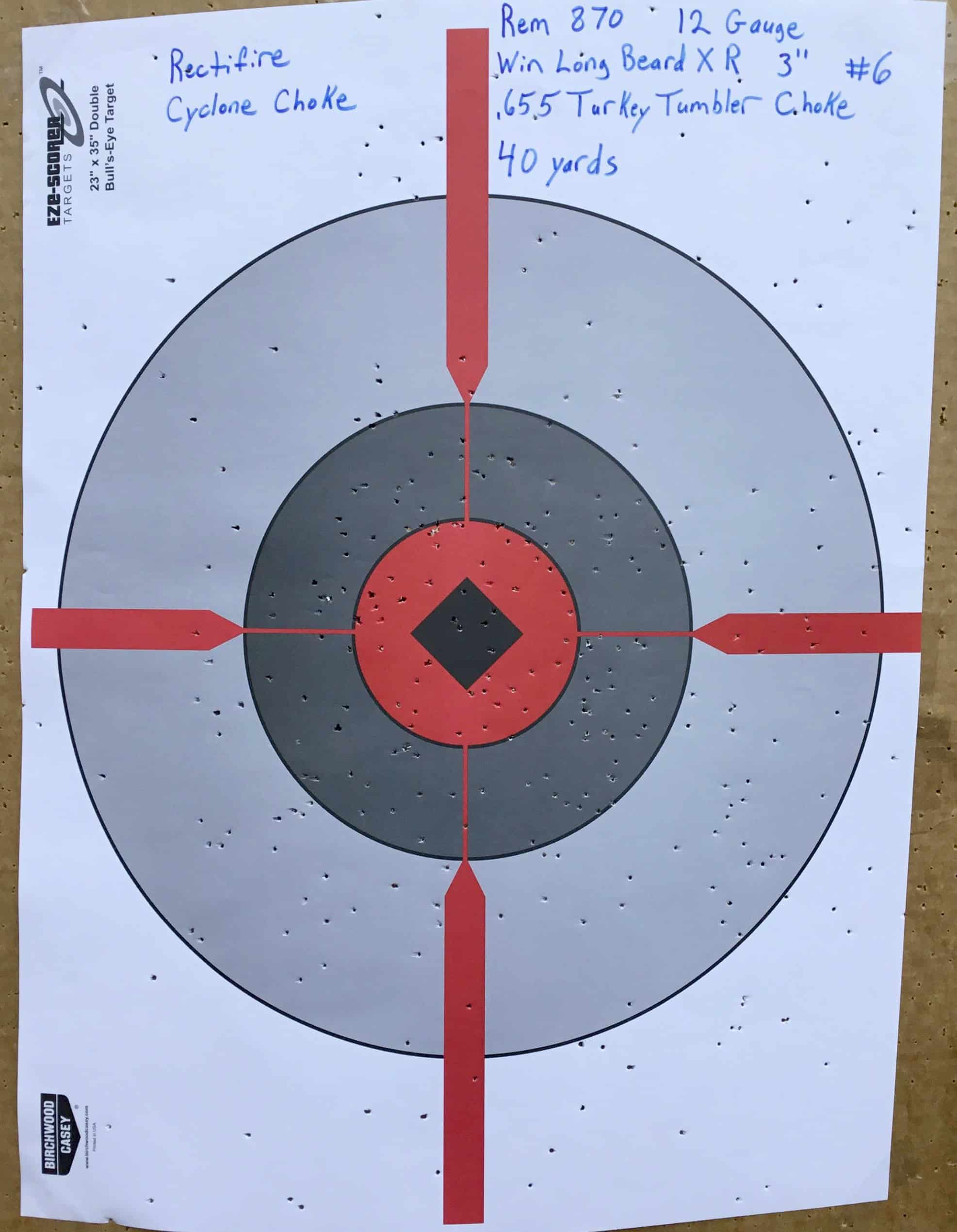 Remington 870 12 Gauge @ 40 yds.